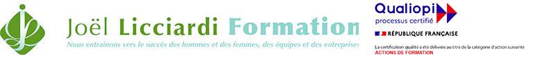 Logo Joël Licciardi Formation